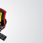 Logotipo Rudder com agasalhos de inverno