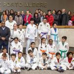 Rudder recebe o Troféu Câmara Municipal de Porto Alegre